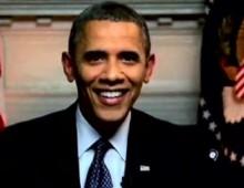 Google Hangout President Obama