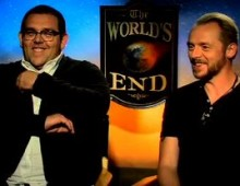 "MTVU Quinnterviews: ""The World's End"""